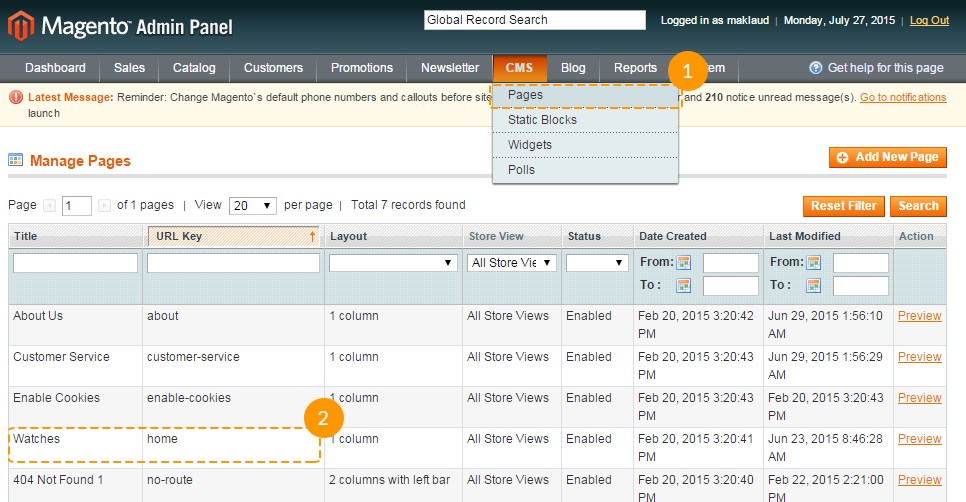 By default Magento has a build-in hardcoded fallback strategy for design  and skin files:
