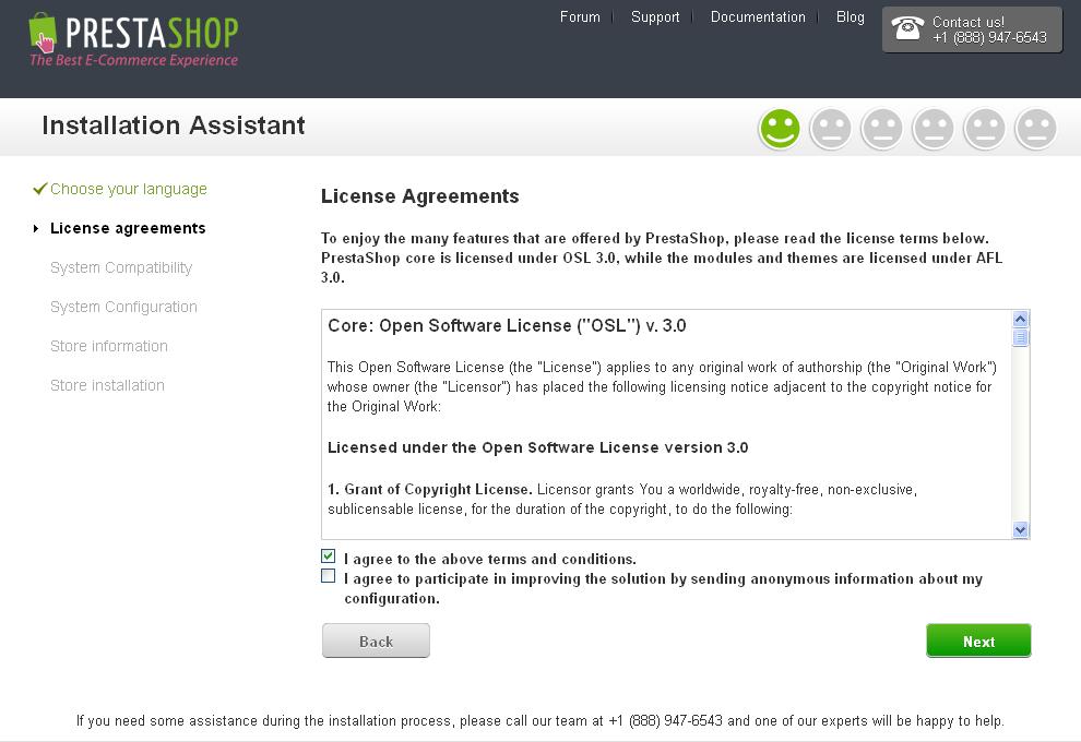 PrestaShop Documentation v1-0