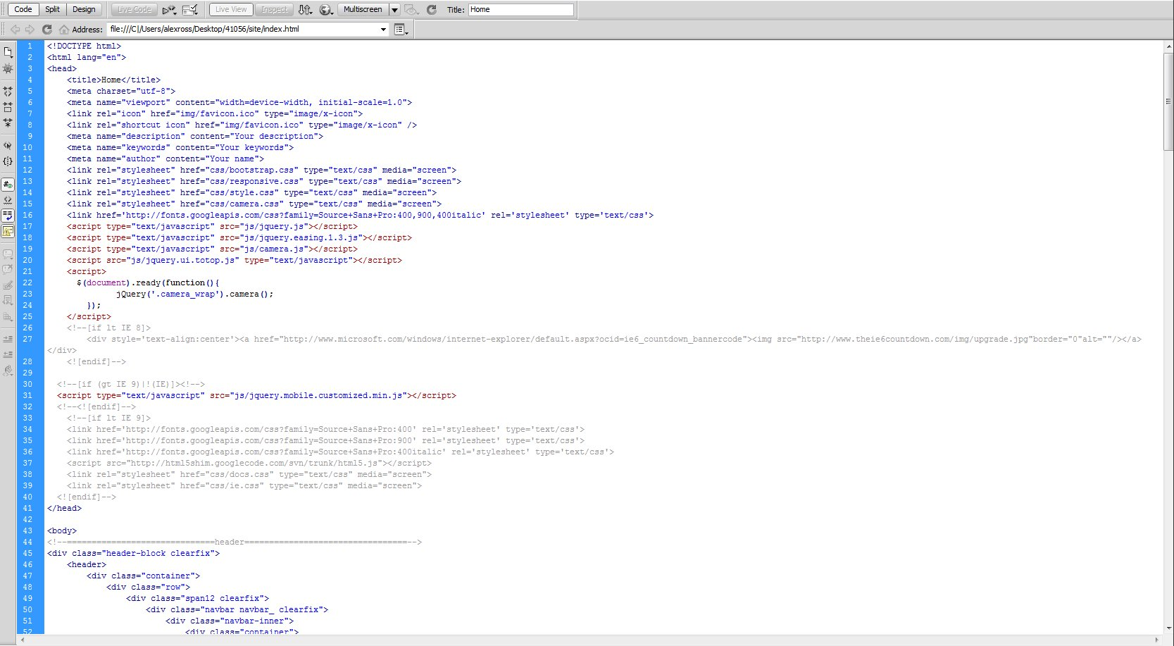 Css Code Template. how to edit your blog design using css on ...