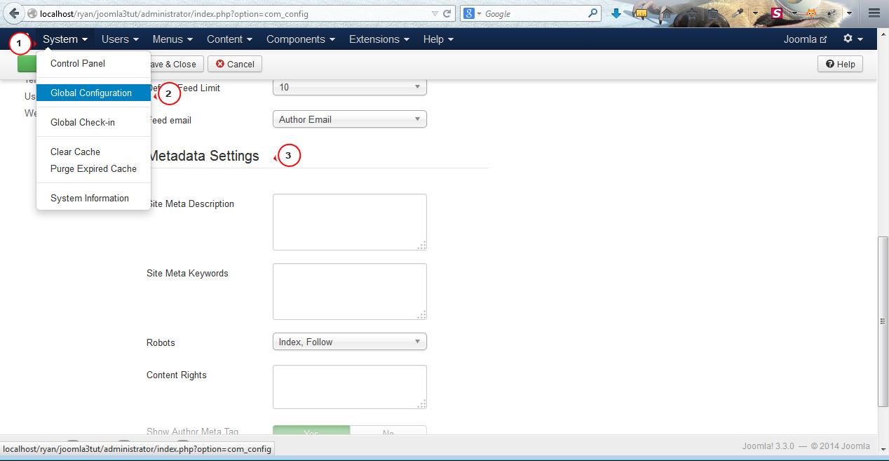 4f06dd796f5 Joomla 3.x. How to insert website