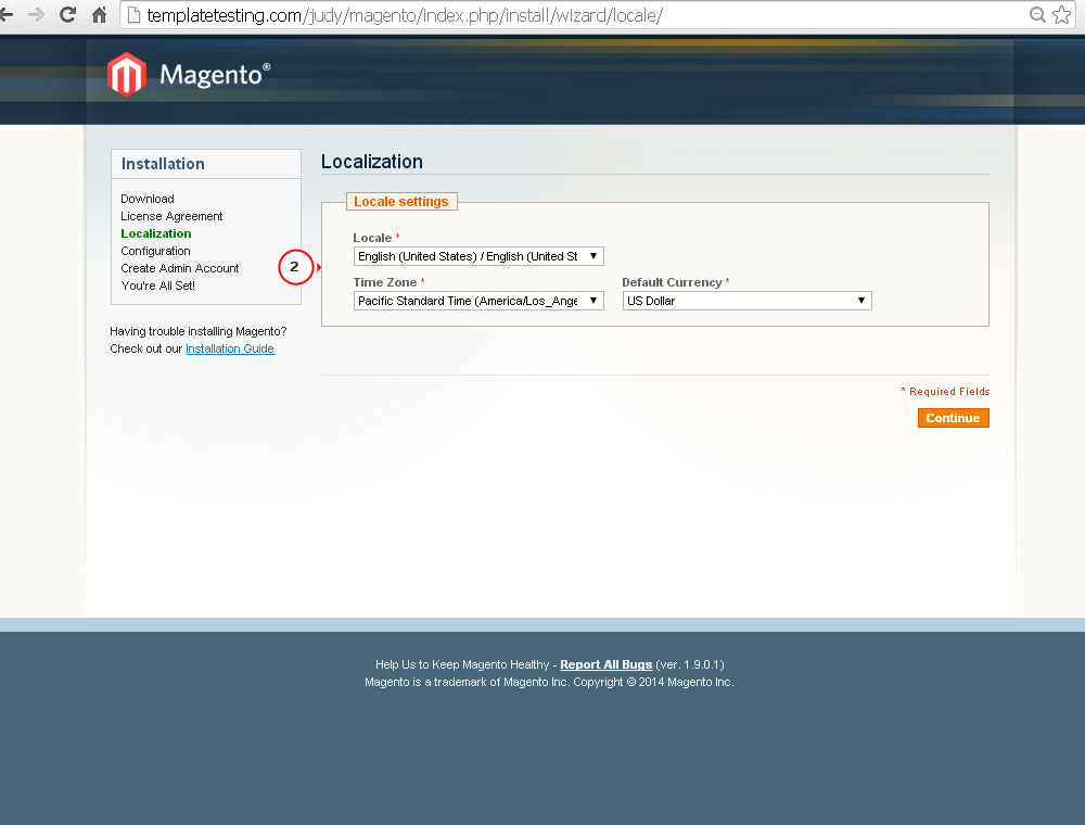 How to install Magento engine - Template Monster Help