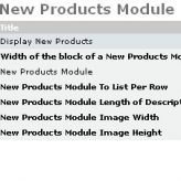 How to maintain product listing module