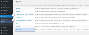 WordPress_How_to_use_Import_Export_tools_2