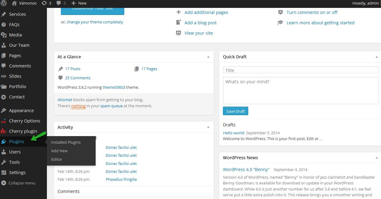 Wordpress как сделать форму обратной связи фото 360