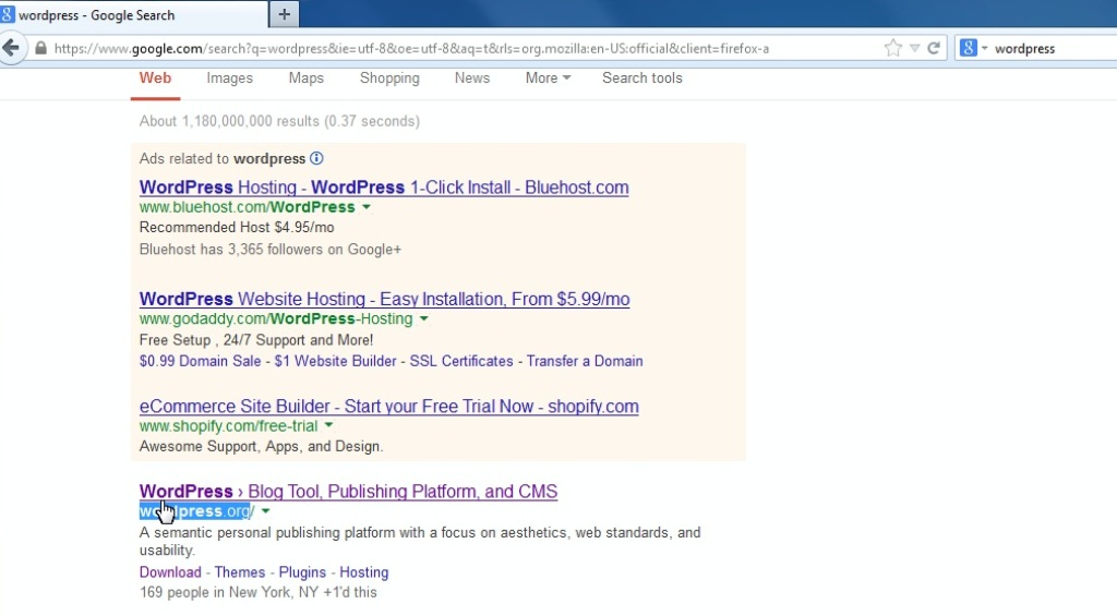 WordPress  How to install the engine to GoDaddy server