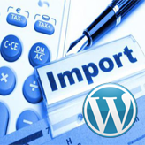 WordPress. How to use Import/Export tools