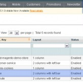 How to manage home page sidebar blocks