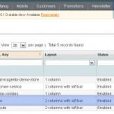 ¿Cómo manejar bloques de barra lateral de página principal?