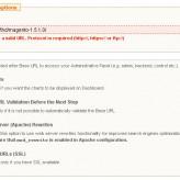 Avoid installation Base URL verification error on localhost