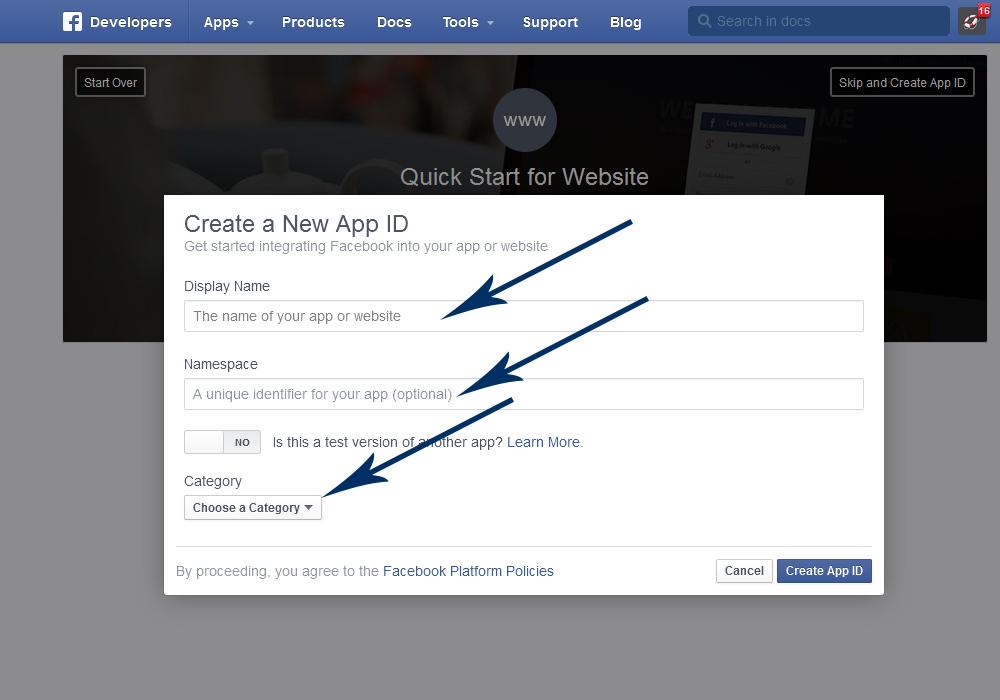 Facebook Wie Man Eine Neue Anwendung Erstellt Hilfe Von