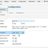 Joomla. Can't see page content after flash block in IE.