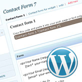 WordPress. Contact form. Advanced Configuration