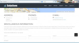 Joomla 3.x. How to manage contact details-1
