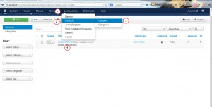 Joomla 3.x. How to manage contact details-2