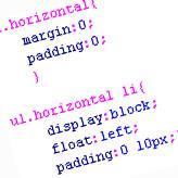 HTML/CSS. How to create vertical and horizontal menu