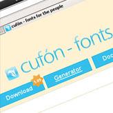 ¿Cómo trabajar con tipos de letra generados por Cufon? (Avanzado)