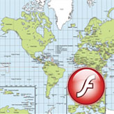 XML Flash. How to work with Google Map