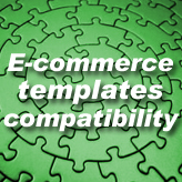 E-commerce templates compatibility