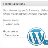Soluciones de problemas de WordPress. Falta del menú de navegación después de instalación de plantilla