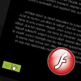 XML Flash. Extend scroll area.