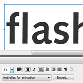 Flash. How to embed fonts in Adobe Flash CS5