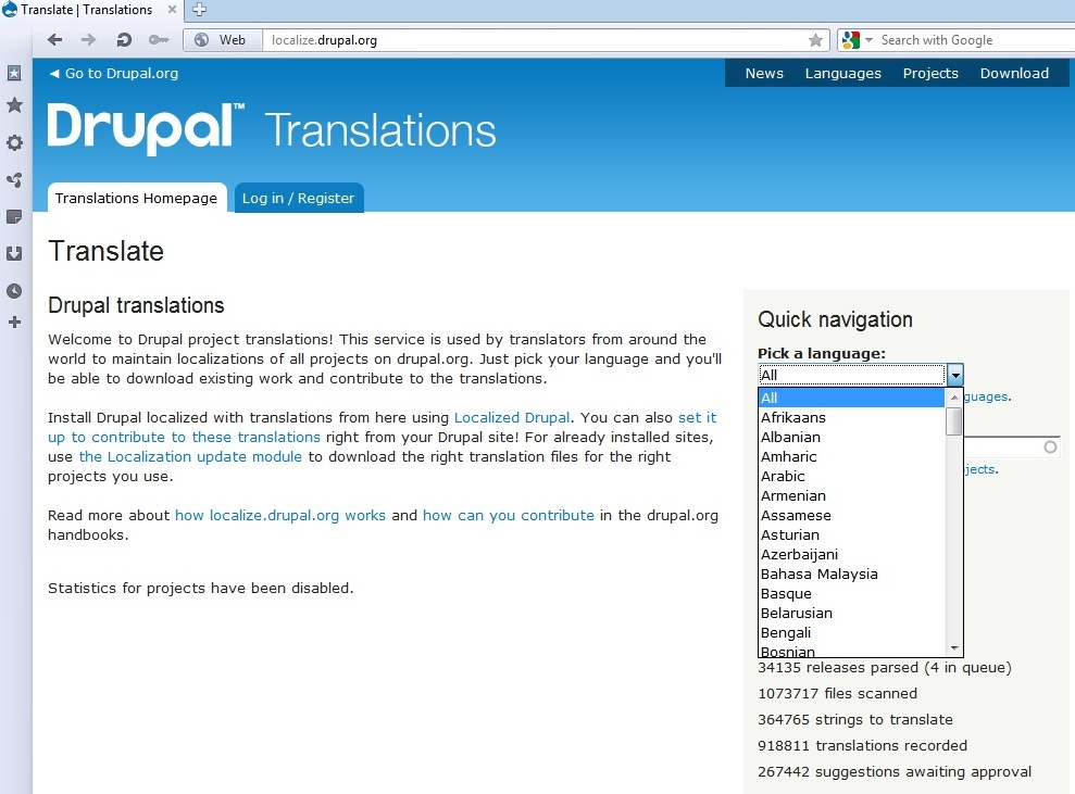 Drupal 7  How install a new language - Template Monster Help