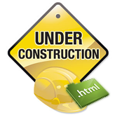 """How to edit the """"Under construction"""" page"""