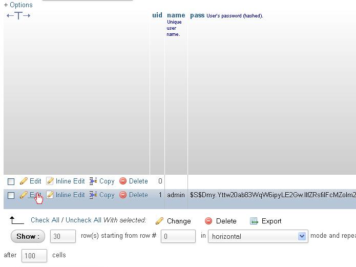 Drupal How To Reset Admin Login Details Template