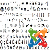 Joomla. How to use special characters in menu titles