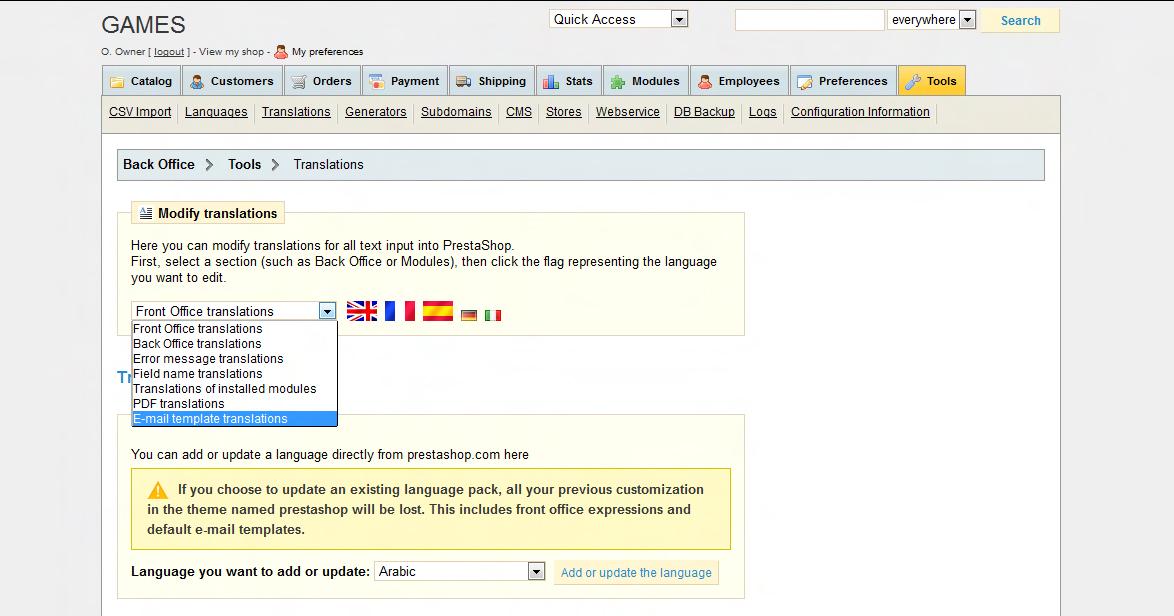 Prestashop 14x 15x how to edit registration and order choose maxwellsz
