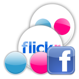 Facebook. How to activate Flickr plugin