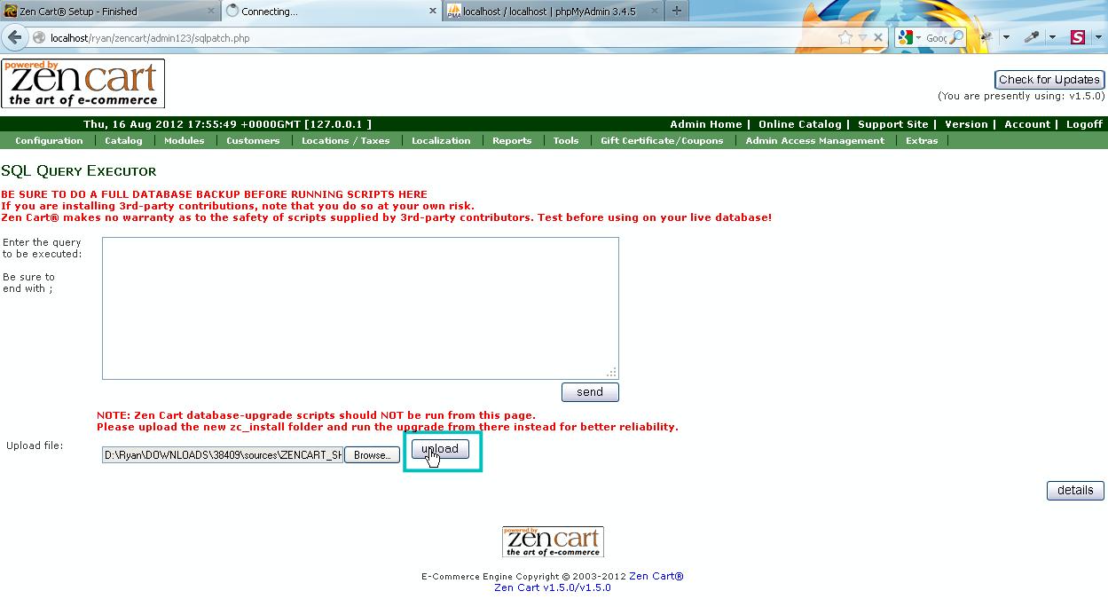 ZenCart. ¿Cómo instalar el motor ZenCart y una plantilla en ...