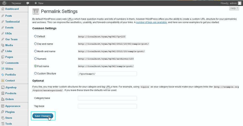 установить движок wordpress на хостинг