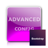 Bootstrap. How to remove Advanced panel