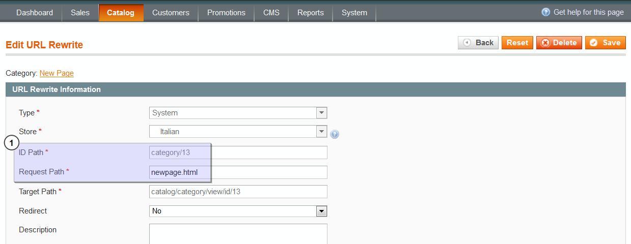 Magento  Adding page links to the navigation bar - Template