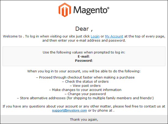 Magento How To Change Emails Logo Template Monster Help