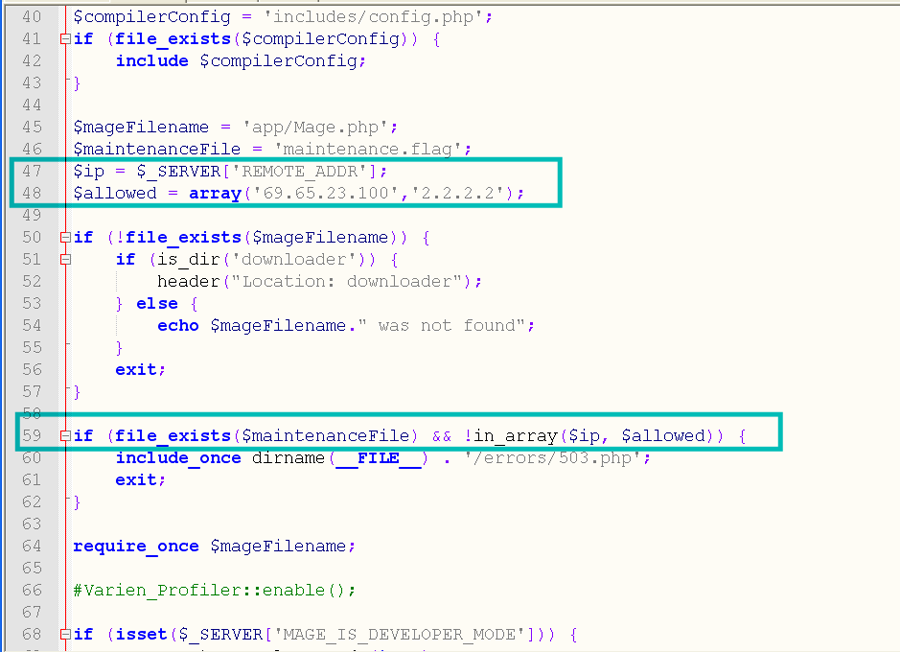 Magento. How to put the website in maintenance mode - Template ...