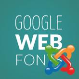 Joomla. How to change a Google web font