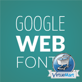 VirtueMart. How to change a Google web font