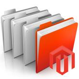 Magento. Eine Unterkategorien-Liste auf einer Kategorie-Seite
