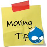 Drupal. How to move your website from one domain to another