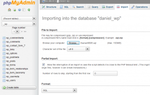 WordPress. How_to_install_Cherry_Framework_theme_sample_data_manually_2