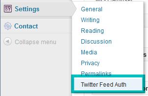 WordPress  How to activate Twitter widget (based on Twitter