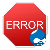 "Drupal. How to deal with ""The website encountered an unexpected error. Please try again later."" error"