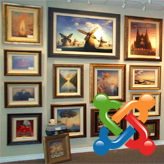 Joomla 3.x. How to work with gallery