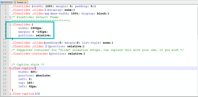 Joomla. How to change slider dimensions - Template Monster Help
