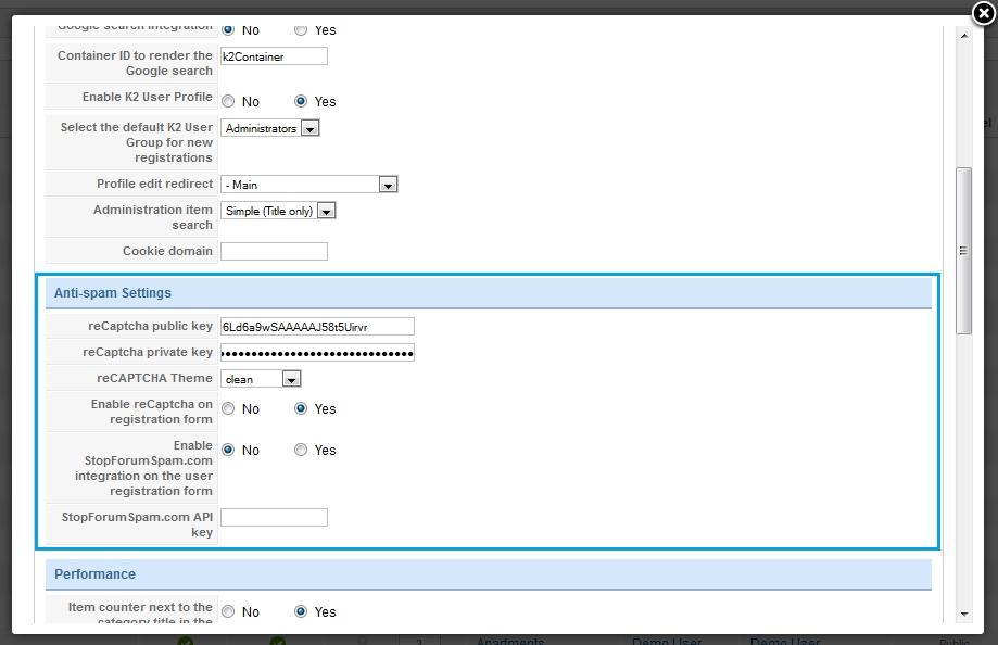Joomla 2 5 x  How to configure captcha (recaptcha plugin) - Template