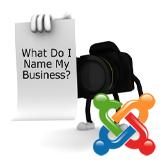Joomla. How to change company name (logo)