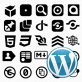 WordPress. How to change FontAwesome icons
