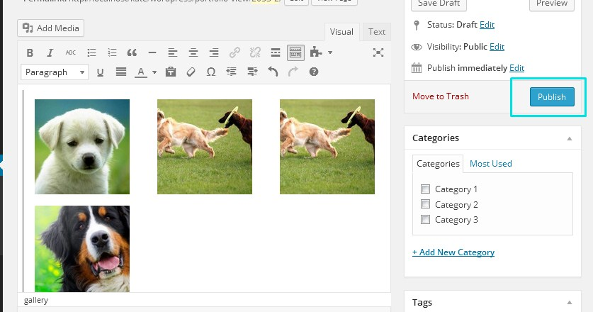 wp zoner how to create slider